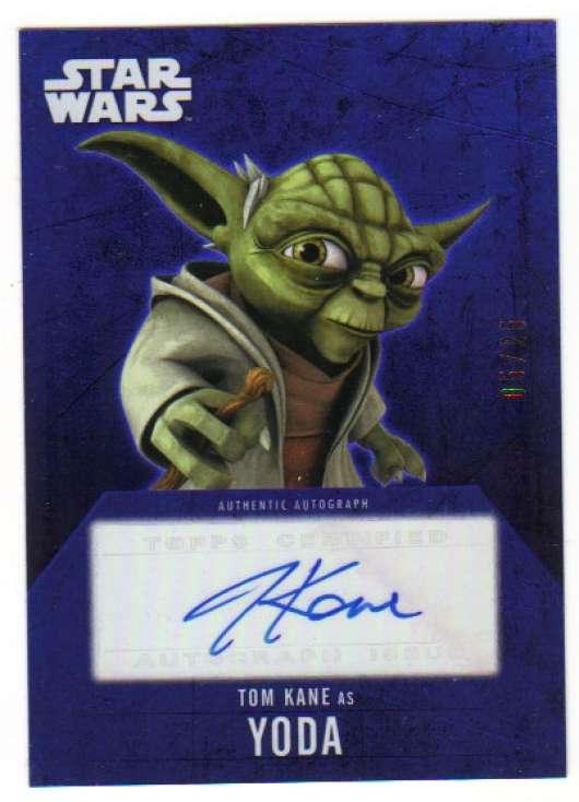 2016 Topps Star Wars Evolution Autographs Purple