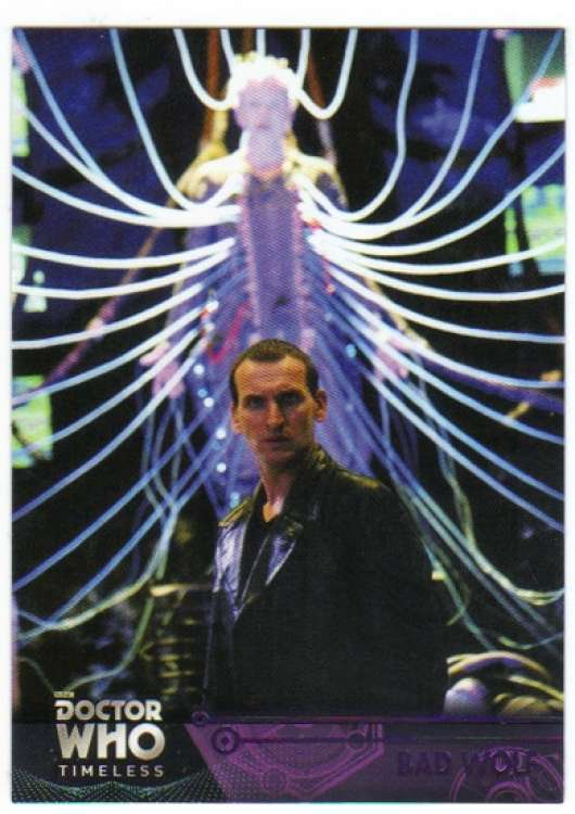 2016 Topps Doctor Who Timeless Purple Foil