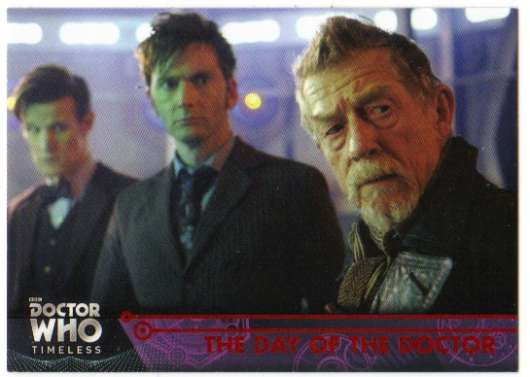 2016 Topps Doctor Who Timeless Red Foil