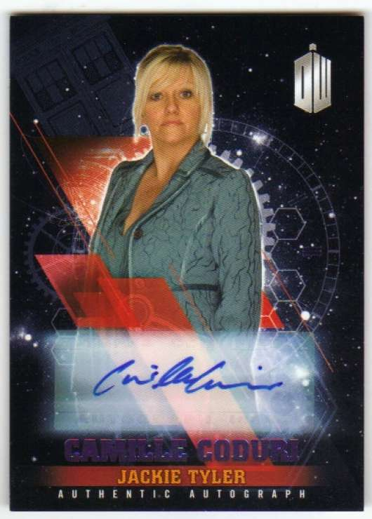 2016 Topps Doctor Who Timeless Autographs Purple Foil