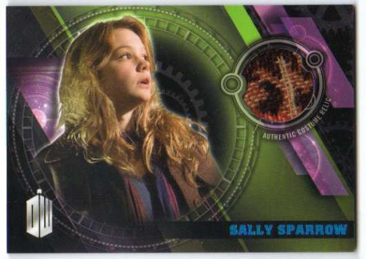 2016 Topps Doctor Who Timeless Costume Relics Blue Foil