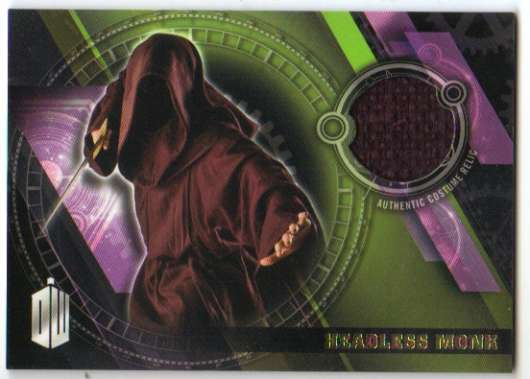 2016 Topps Doctor Who Timeless Costume Relics Gold Foil