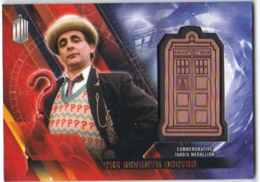 2016 Topps Doctor Who Timeless TARDIS Medallions