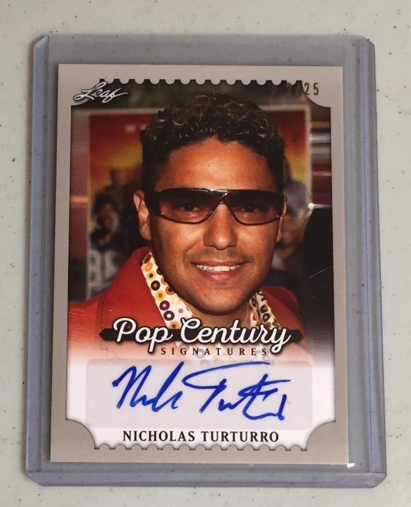 2016 Leaf Pop Century Pop Century Autographs Silver