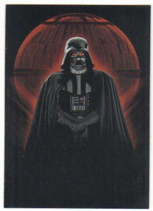 2016 Topps Star Wars Rogue One Mission Briefing Darth Vader Continuity