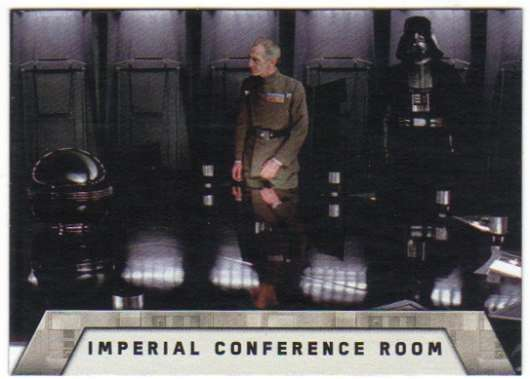2016 Topps Star Wars Rogue One Mission Briefing Death Star