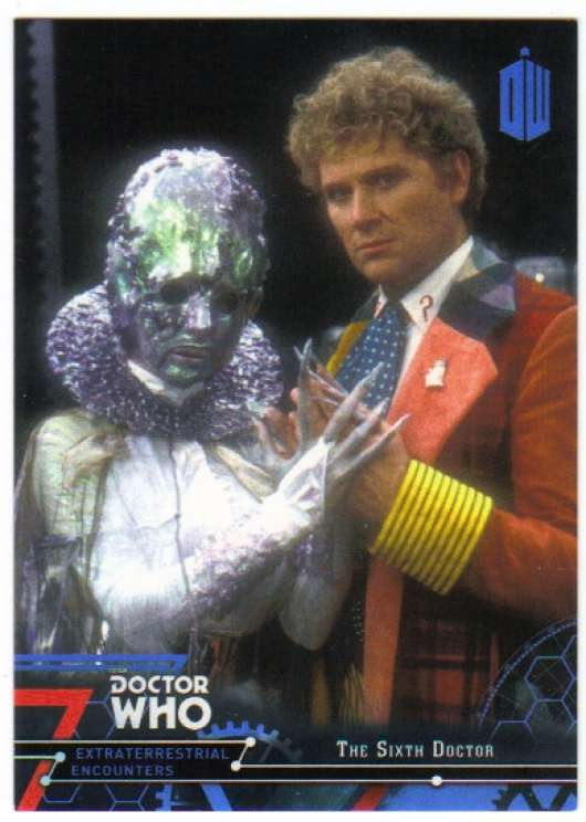 2016 Topps Doctor Who Exraterrestrial Encounters Blue