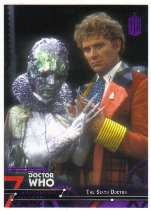 2016 Topps Doctor Who Exraterrestrial Encounters Purple