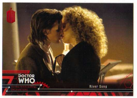 2016 Topps Doctor Who Exraterrestrial Encounters Red