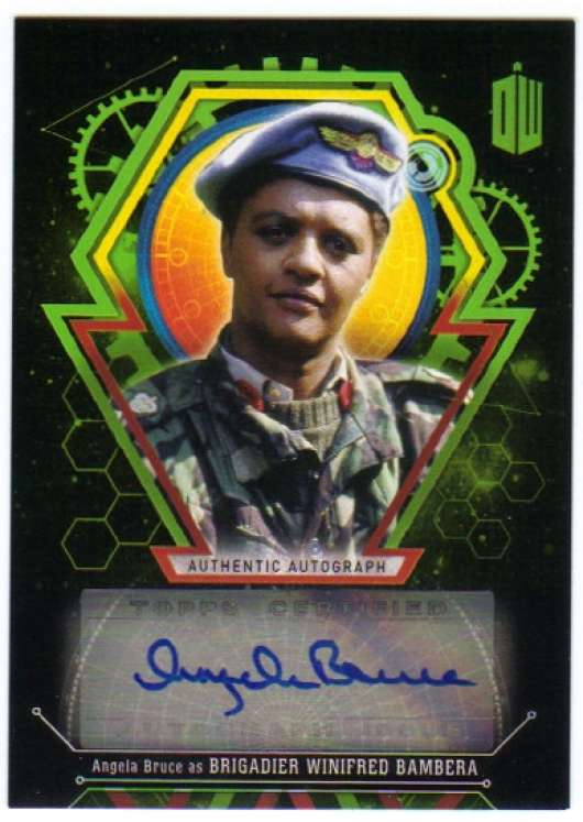 2016 Topps Doctor Who Exraterrestrial Encounters Autographs