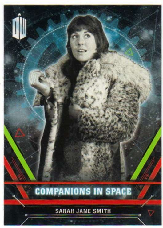 2016 Topps Doctor Who Exraterrestrial Encounters Companions in Space