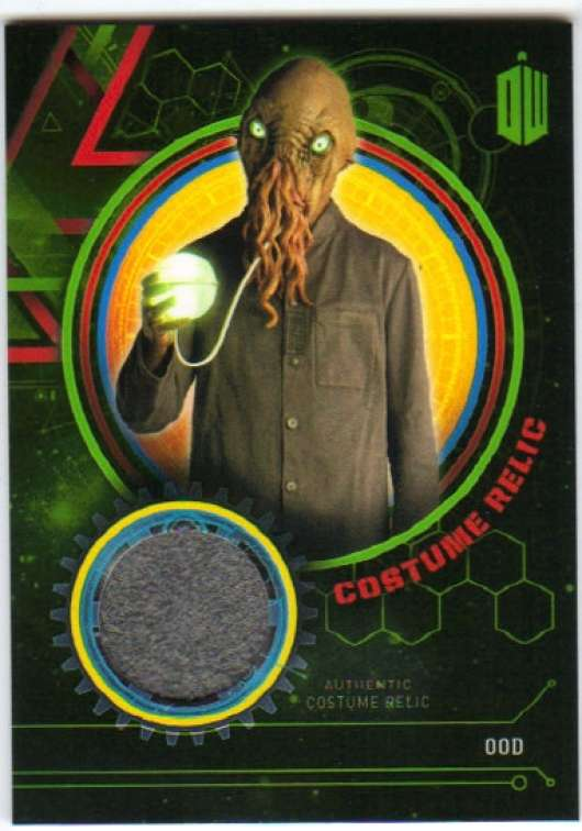 2016 Topps Doctor Who Exraterrestrial Encounters Costume Relics