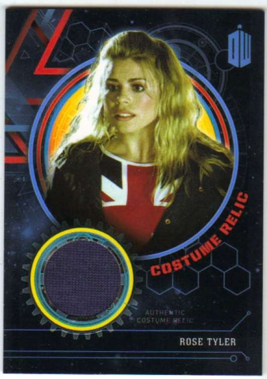 2016 Topps Doctor Who Exraterrestrial Encounters Costume Relics Blue