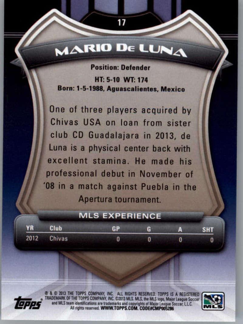 2013-Topps-MLS-Soccer-Pick-A-Player thumbnail 33