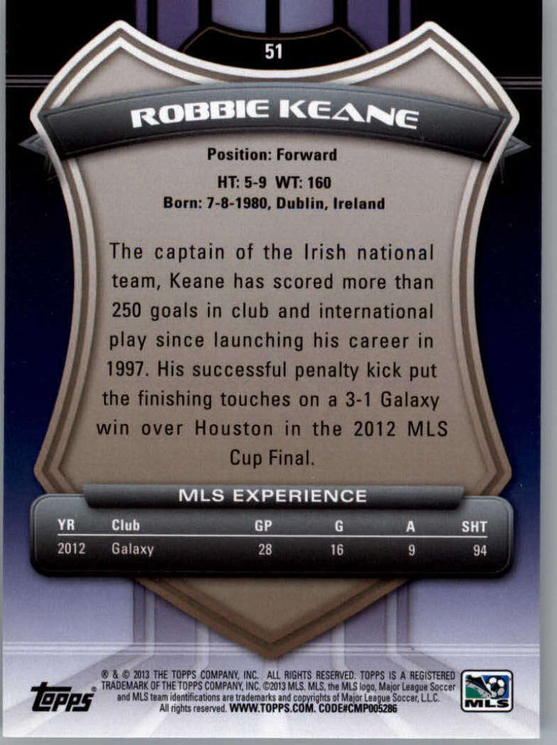 2013-Topps-MLS-Soccer-Pick-A-Player thumbnail 99