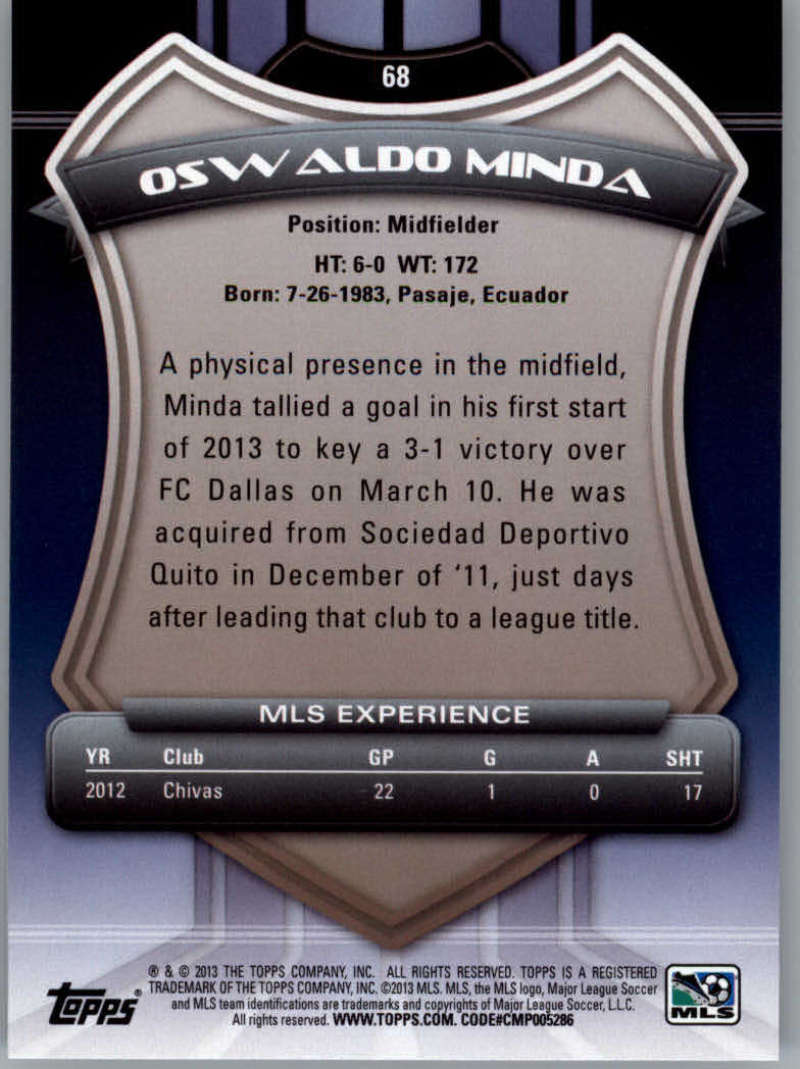 2013-Topps-MLS-Soccer-Pick-A-Player thumbnail 133