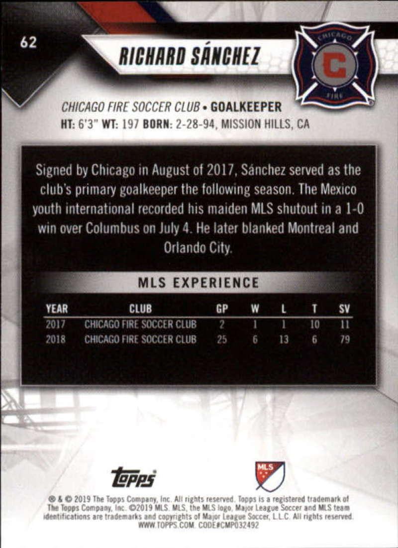 Pick A Card 2019 Topps MLS Soccer