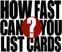 How Fast Can You List Sports Cards?