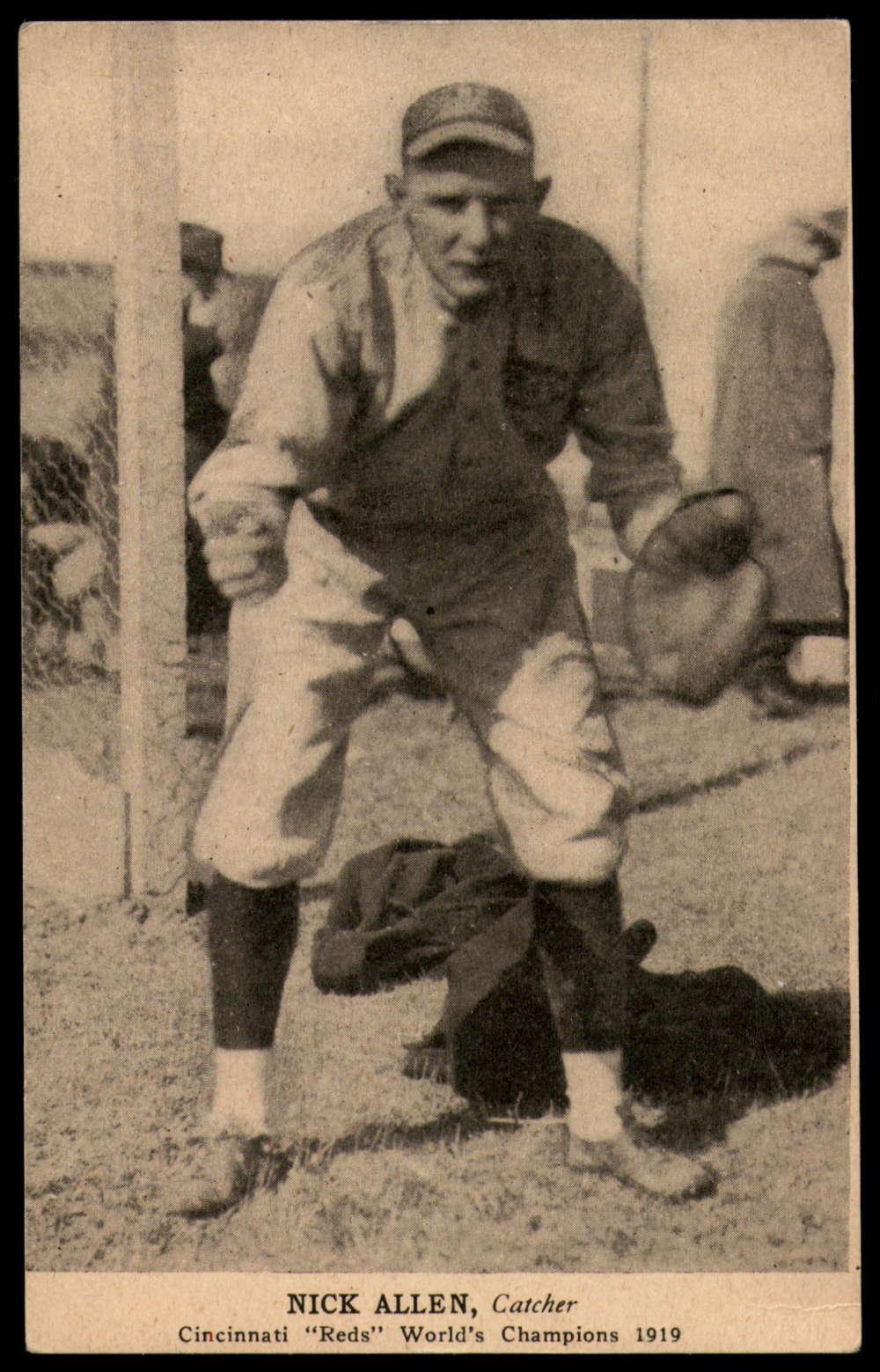 1919 Cincinnati Reds Postcards