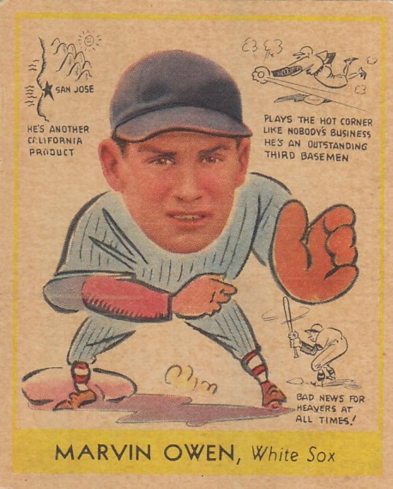 1938 Goudey R323 Heads Up