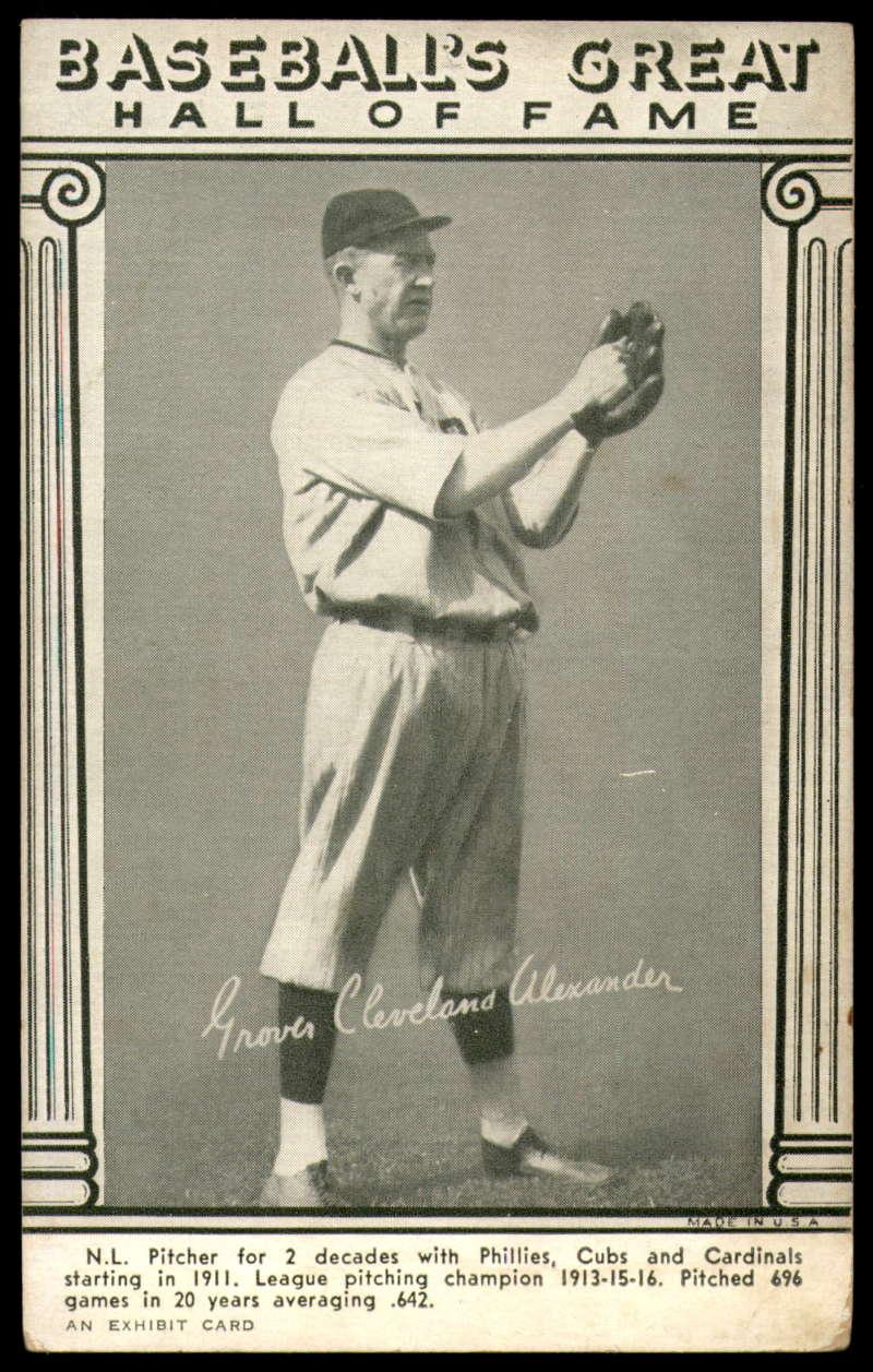 1948 W464 Baseball's Great HOF Exhibits