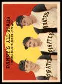 1959 Topps #17 Frank J. Thomas/Danny Murtaugh, Ted Kluszewski Danny's All-Stars UER Very Good