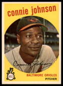 1959 Topps #21 Connie Johnson Very Good