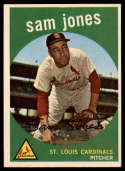 1959 Topps #75 Sam Jones Very Good