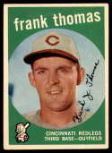 1959 Topps #490 Frank J. Thomas Very Good