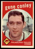 1959 Topps #492 Gene Conley Very Good