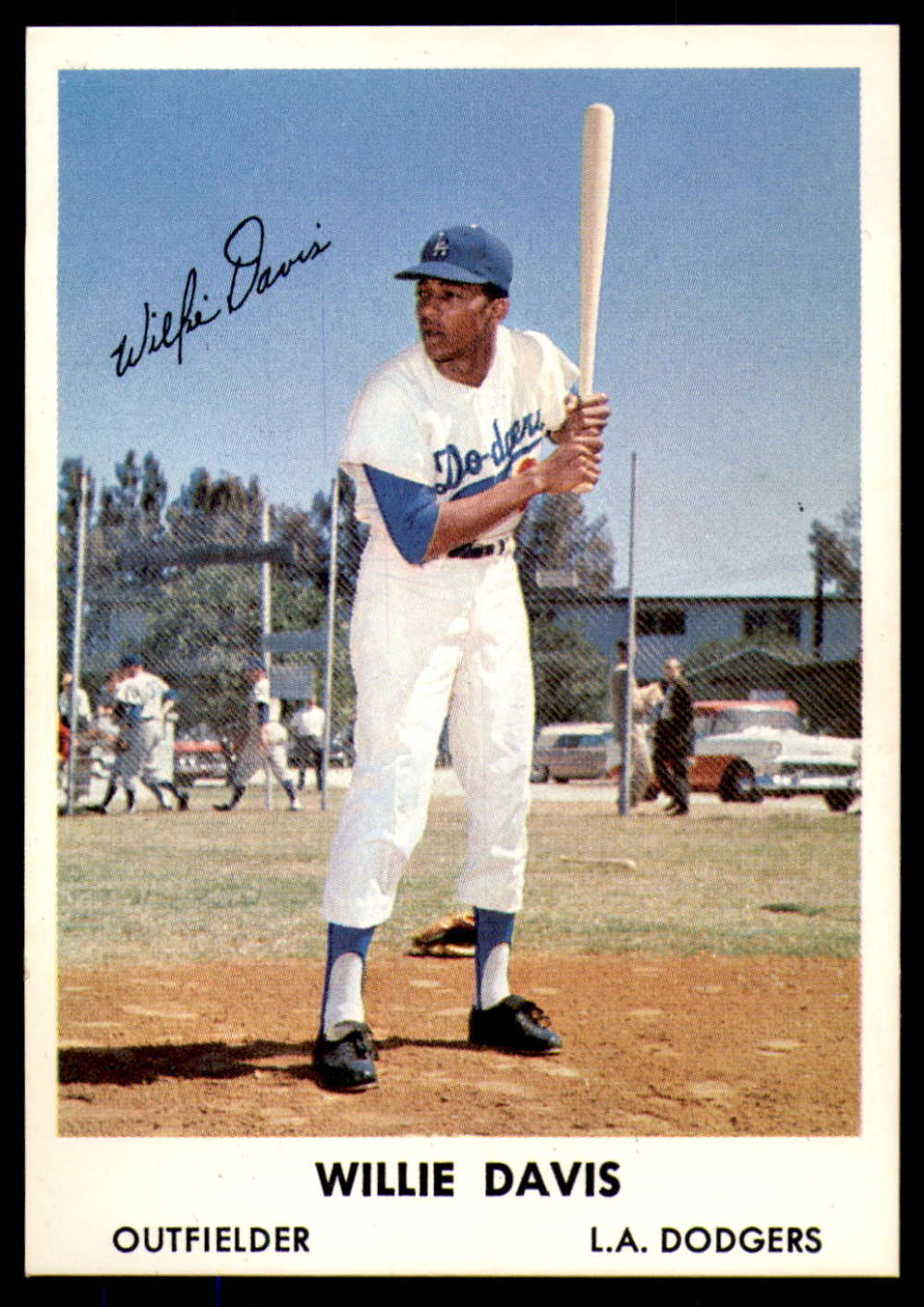 1961 Bell Brand Los Angeles Dodgers