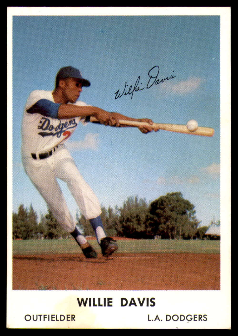 1962 Bell Brand Los Angeles Dodgers