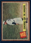 1962 Topps #142 Babe Ruth Coaching for the Dodgers Excellent +