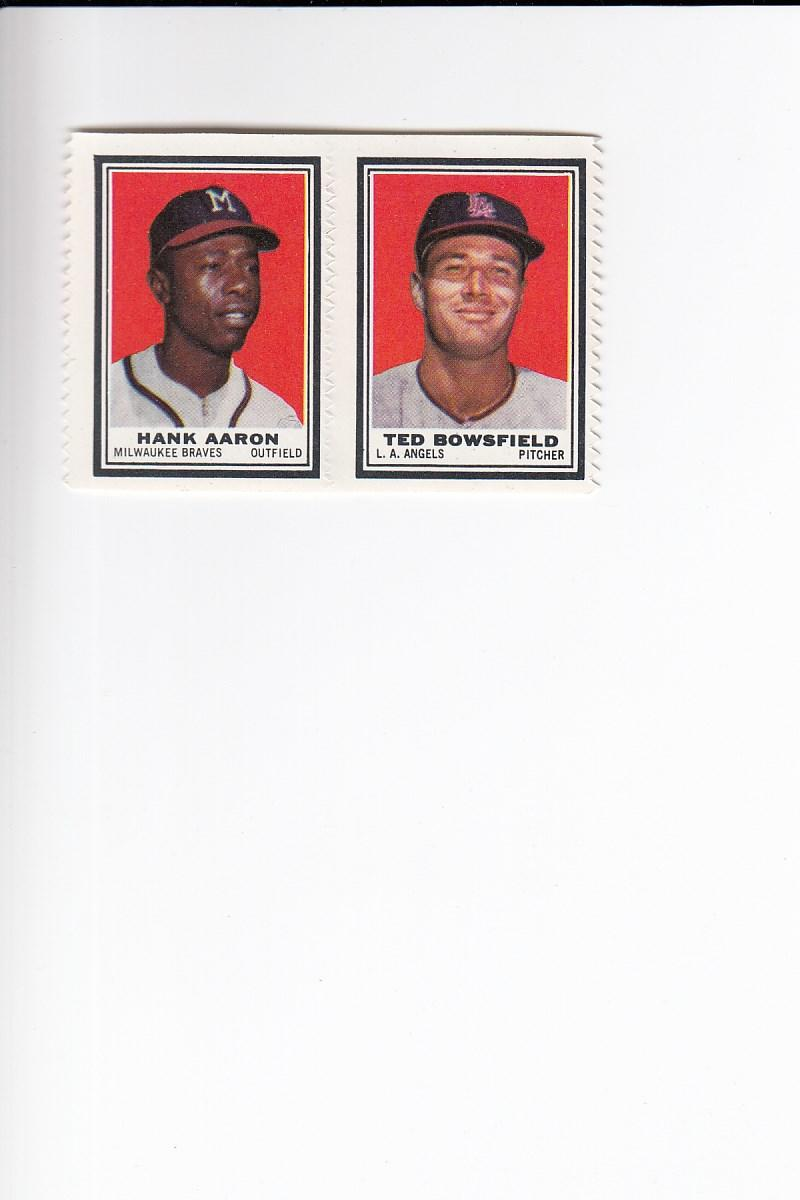 1962 Topps  Stamp Panels