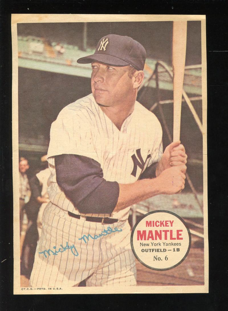 1967 Topps  Posters