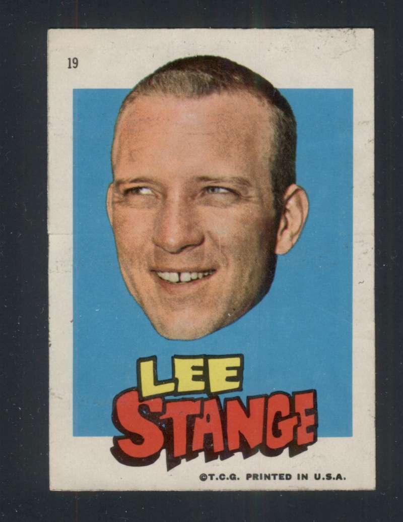 1967 Topps Stickers Boston Red Sox