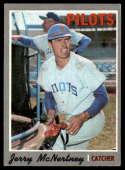 1970 Topps #158 Jerry McNertney Nr. Mint / Off Center