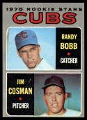 1970 Topps #429 Randy Bobb/Jim Cosman Cubs Rookies Nr. Mint RC Rookie