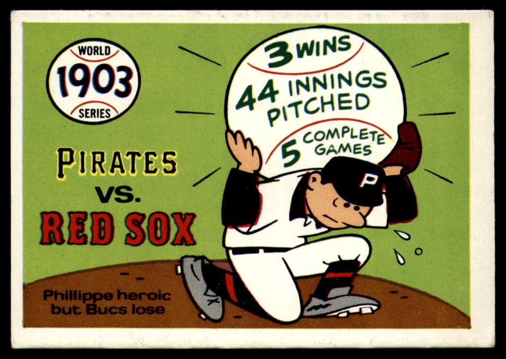 1970 Fleer World Series