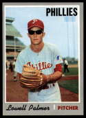 1970 Topps #252 Lowell Palmer Nr. Mint / Off Center RC Rookie
