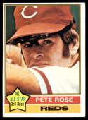 1976 Topps #240 Pete Rose Cincinnati Reds