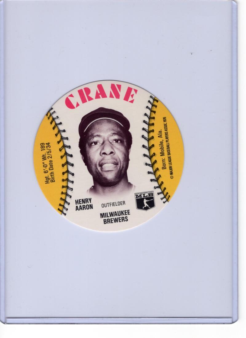 1976 Crane Potato Chips Discs
