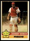 1976 Topps #300 Johnny Bench Cincinnati Reds