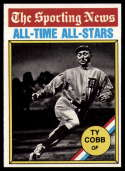 1976 Topps #346 Ty Cobb All Time Greats Detroit Tigers