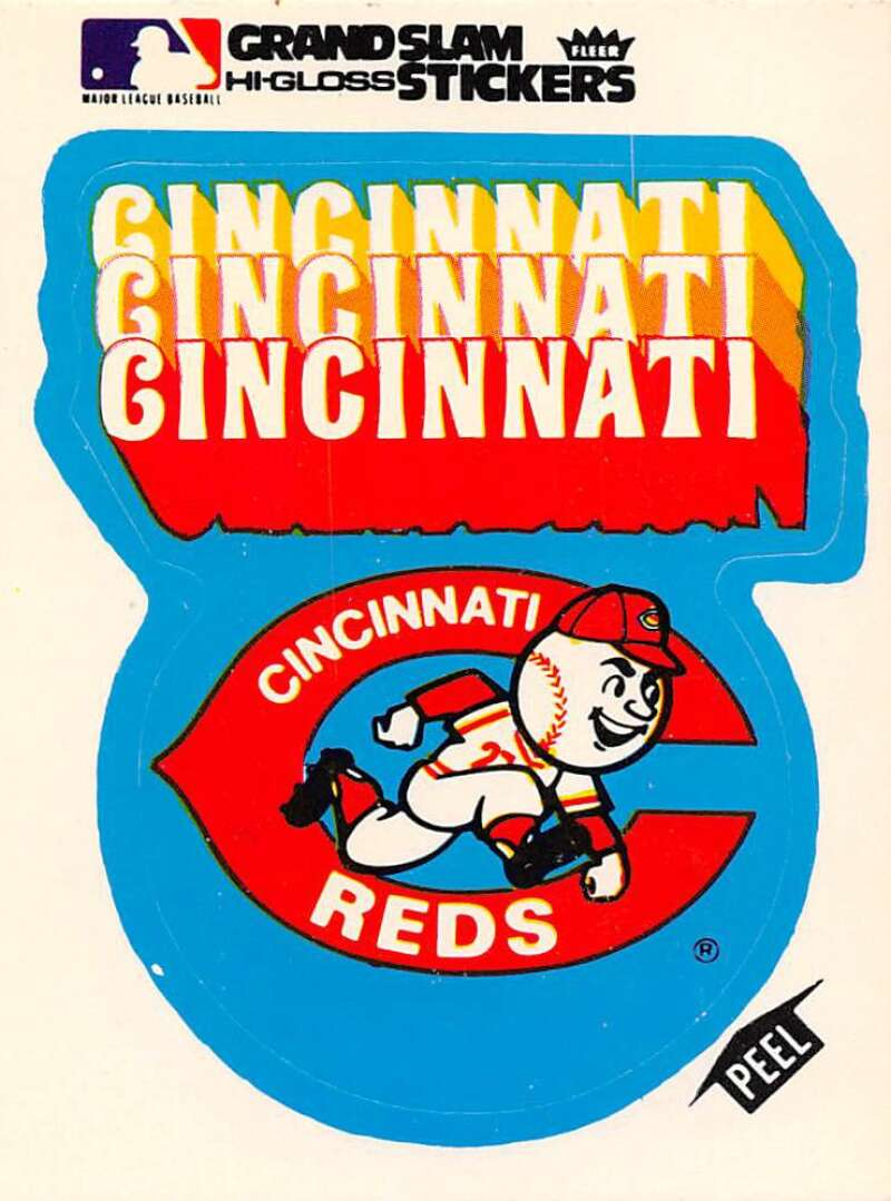 1977 Fleer Grand Slam Hi-Gloss Stickers