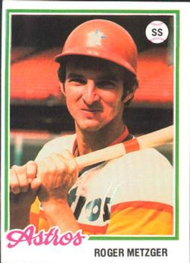 1978 Topps Burger King Houston Astros