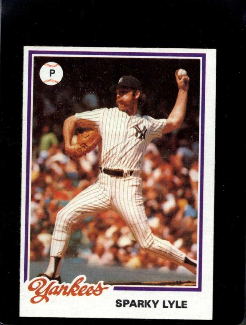 1978 Topps Burger King New York Yankees