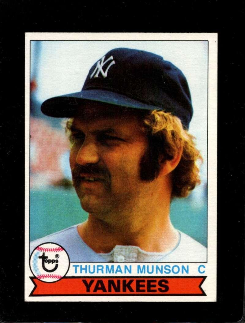 1979 Topps Burger King New York Yankees