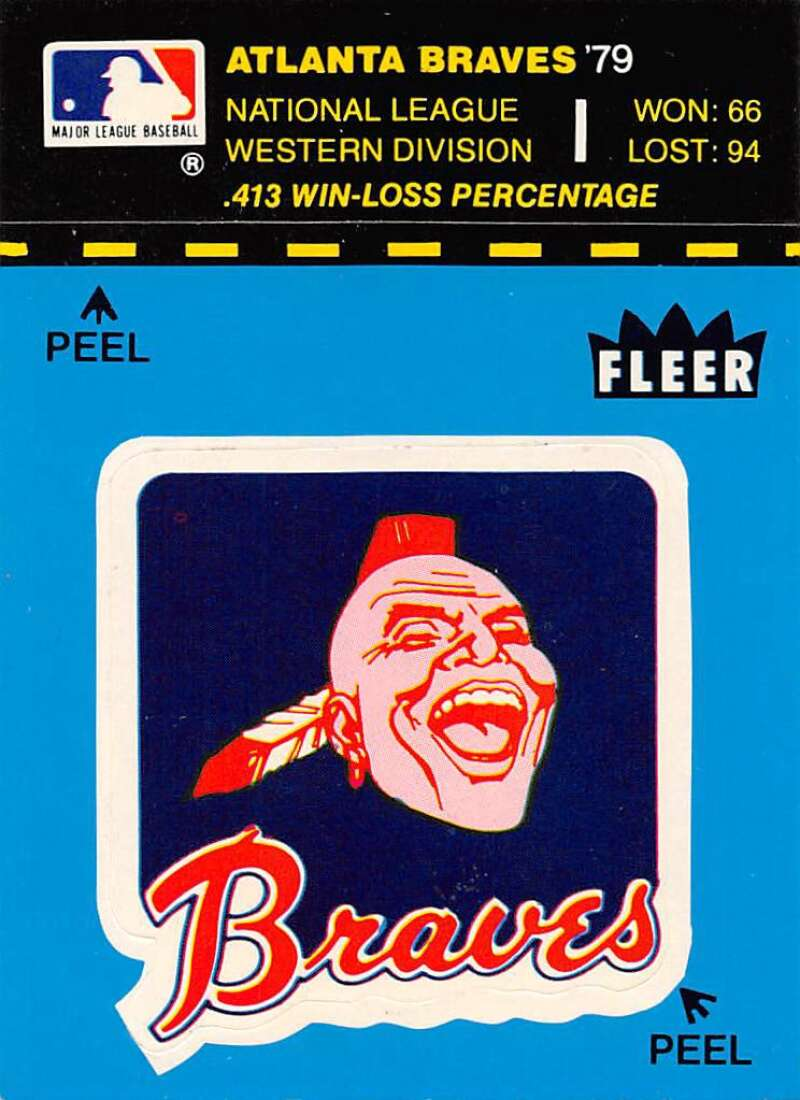 1980 Fleer Team Stickers and World Series