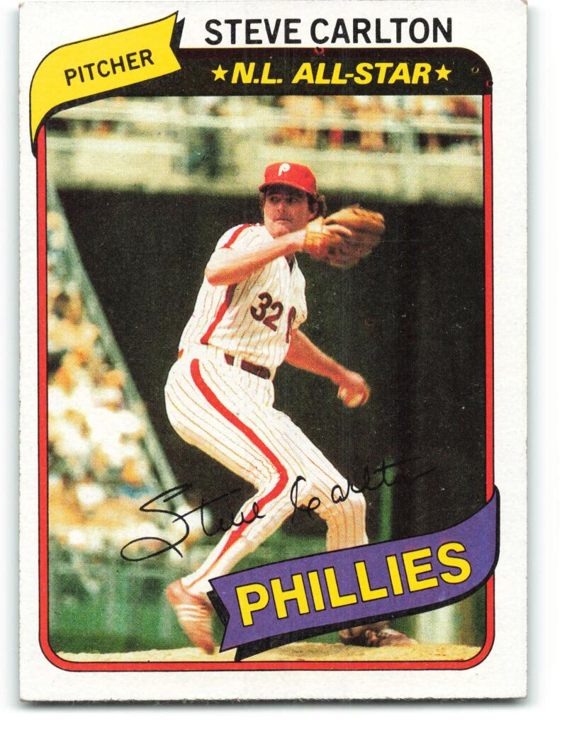 1980 Burger King Philadelphia Phillies